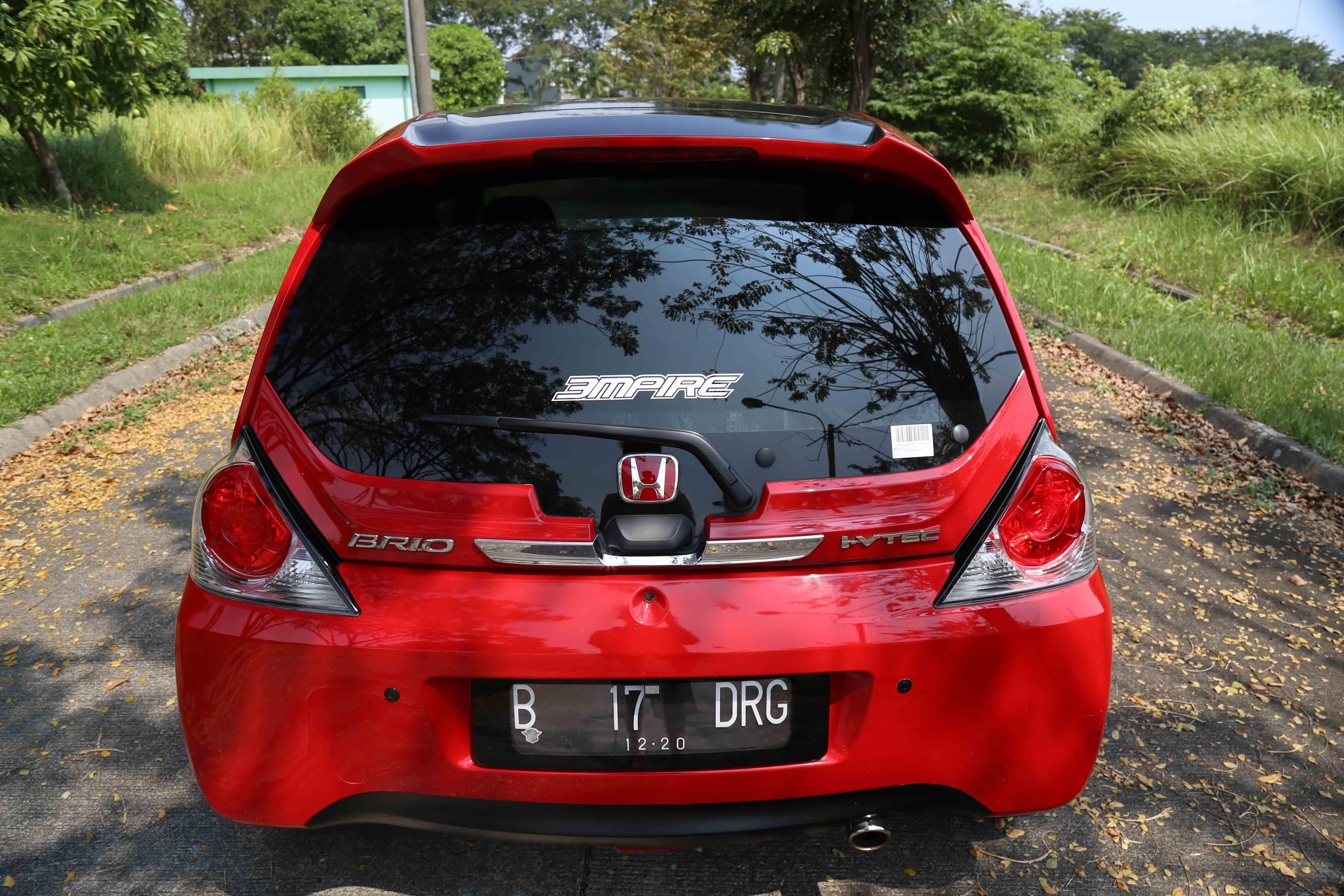 Brio Merah 'RS' - Just Show Off - Honda Brio Community