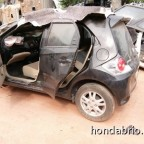 honda brio crash 5