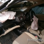 honda brio crash 3