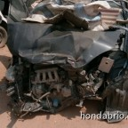 honda brio crash 1