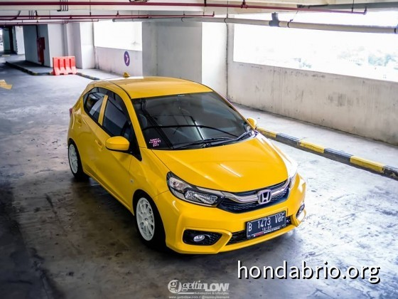 All New Honda Brio Yellow Candy