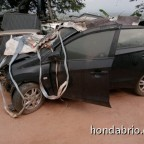honda brio crash 4