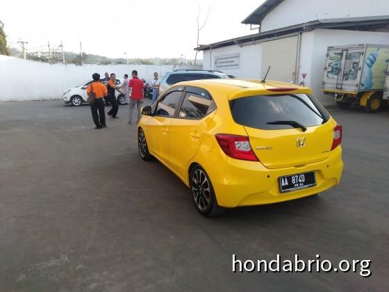 All New Brio R16 isi 5 orang