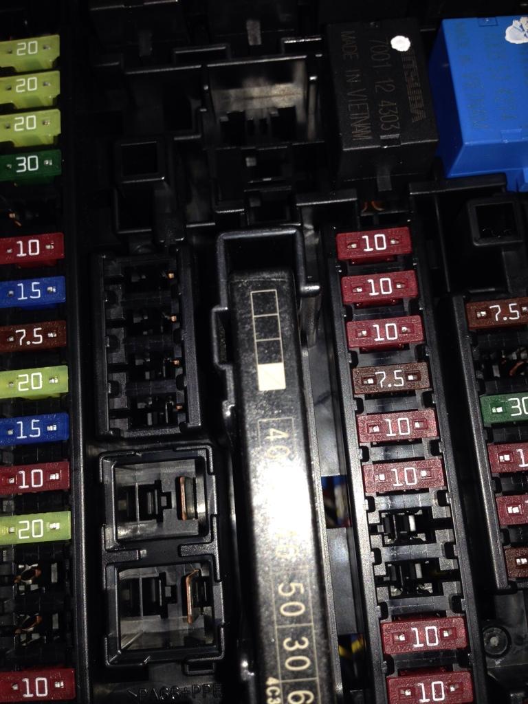 Gambar    Diagram Sekring-sekring Honda Brio