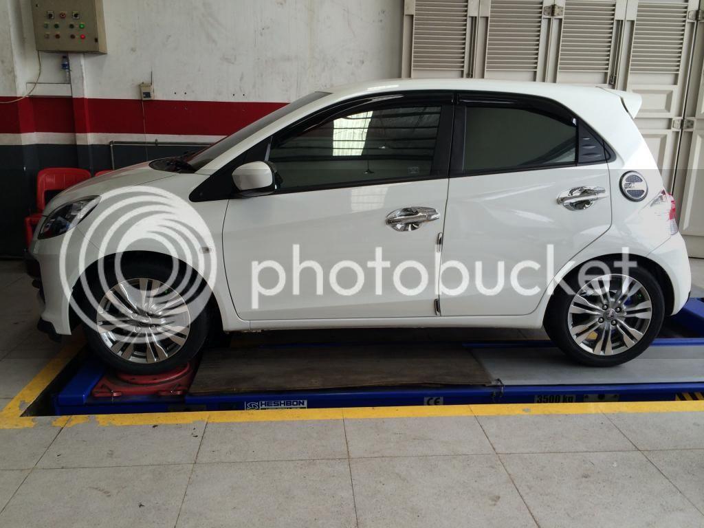Honda Brio Pakai Velg Jazz